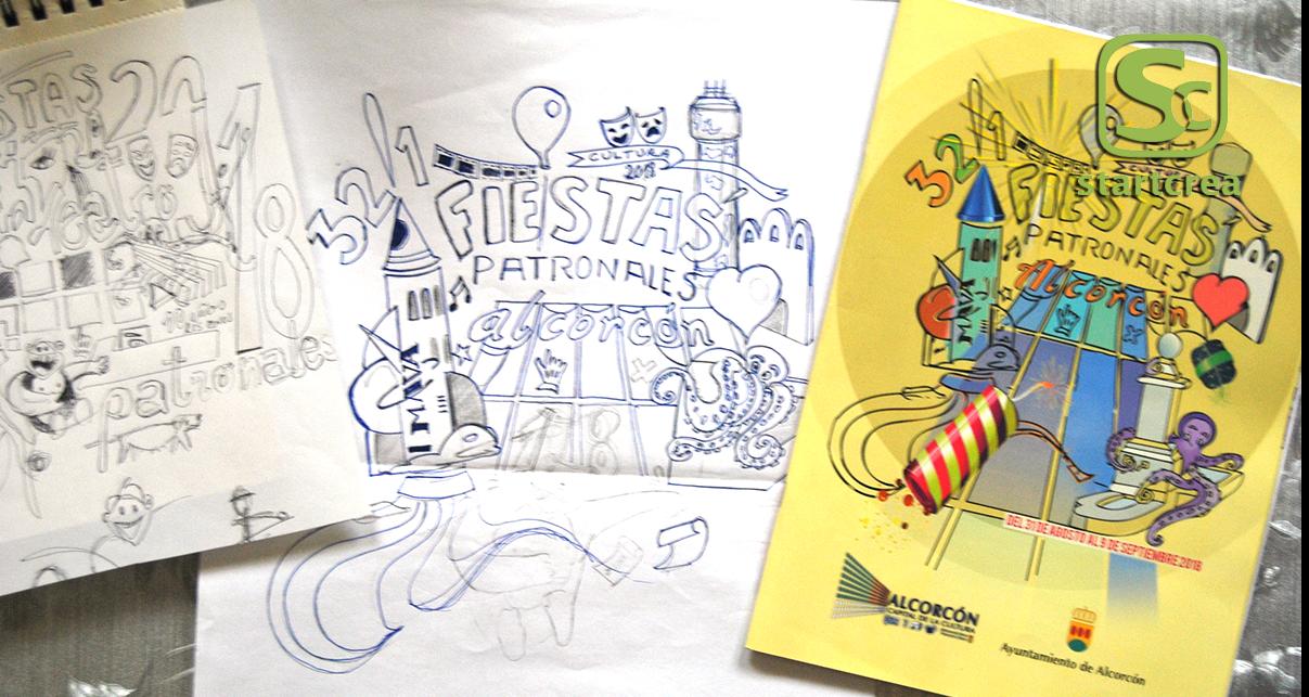 Diseños ilustrativos personalizados